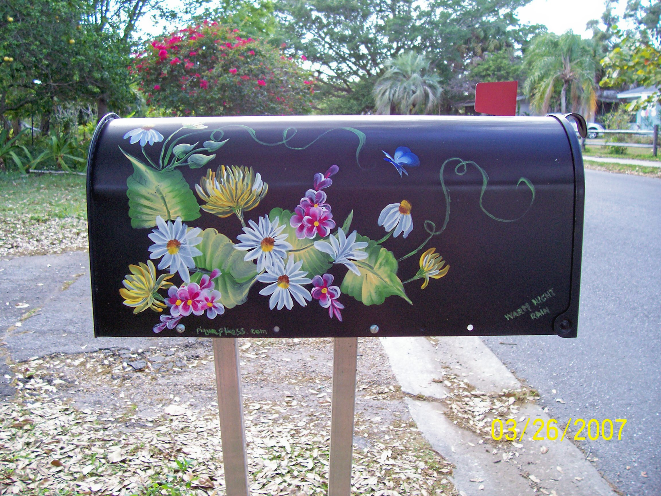 hand painted mailbox designs. Mailboxes Hand Painted Mailbox Designs E